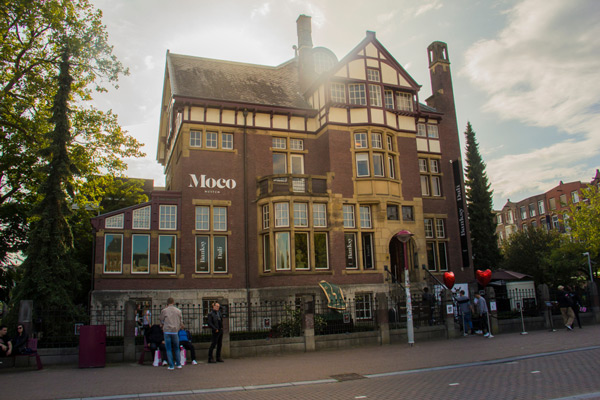 Moco Museum in Amsterdam