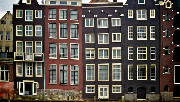 Historic Amsterdam Architecture