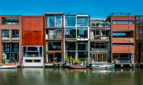 With Its Unique Architecture, Amsterdam Certainly Ranks Amongst The Most  Beautiful Cities In Europe. The Most Special Architectural Feature Is The  Ring Of ...