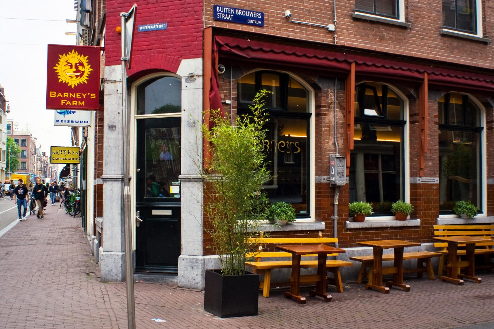 Barneys Coffee Shop Menu