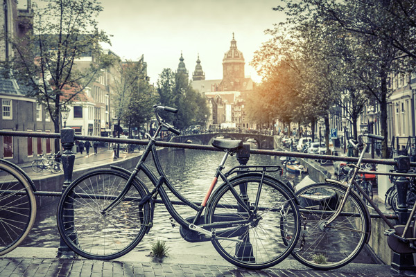 Rainy Weather in Amsterdam
